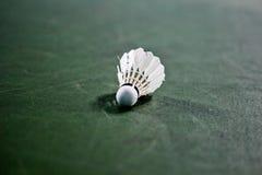 Close up detalhado de um badminton Fotos de Stock