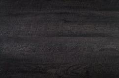 Textura de madeira preta Foto de Stock