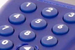 Close up of a dial pad Royalty Free Stock Photos