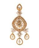 Close up of diamond earring Stock Photo