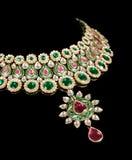 Close up of diamond necklace Stock Image
