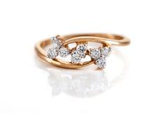 Close up of Diamond ring Royalty Free Stock Photo