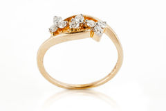 Close up of Diamond ring Royalty Free Stock Photography