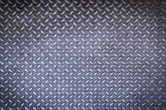 Close up diamond steel plate background Royalty Free Stock Photo