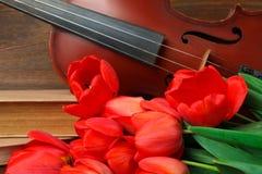 Close-up die van een akoestische gitaar is ontsproten fretboard en soundhole royalty-vrije stock afbeelding
