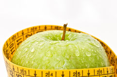 Close-up diet apple Royalty Free Stock Images