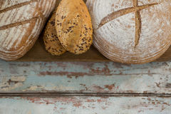 Close-up of different types of bread Stock Image