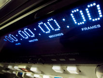 Video timecode Royalty Free Stock Photo