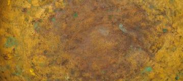 Close-up dimensional das escalas do vintage de cobre velho da textura imagem de stock royalty free