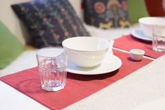 Dinner set on the table Royalty Free Stock Images