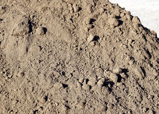 Close up of Dirt Pile - Clean Fill Stock Image