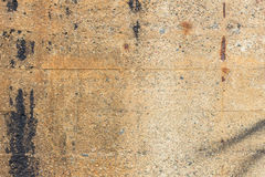 Close-up of a dirty pale brown concrete wall Stock Photos