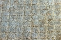 Close up dirty woven rope texture, sacks doormat use for backgro Royalty Free Stock Photos