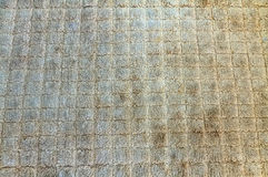 Close up dirty woven rope texture, sacks doormat use for backgro Stock Photo