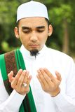 Close up disparado do homem muçulmano Imagens de Stock Royalty Free