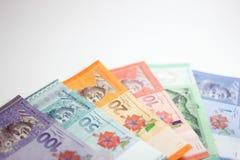 Close up disparado do ringgit Malásia Fotografia de Stock Royalty Free