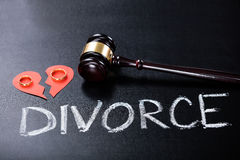 Close-up Of Divorce Concept