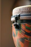 Close Up of a Djembe Head 2 Stock Photo