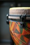 Close Up of a Djembe Head 4 Royalty Free Stock Image