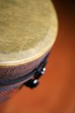 Close Up of a Djembe Head 6 Stock Images