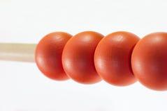 Close-up do ábaco Imagem de Stock
