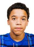 Close-Up do adolescente Fotografia de Stock