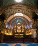Feche acima da vista Notre-Dame Basillica Imagem de Stock Royalty Free