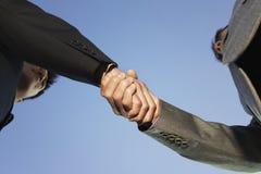 Close up do aperto de mão do negócio Imagem de Stock Royalty Free