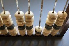 Close up do ábaco Foto de Stock Royalty Free