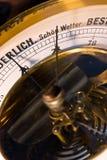 Close-up do barómetro Imagens de Stock Royalty Free