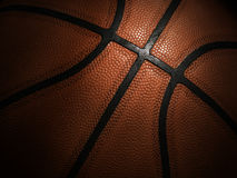 Close-up do basquetebol Fotografia de Stock Royalty Free