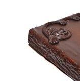 Close up do bolo de chocolate Fotografia de Stock