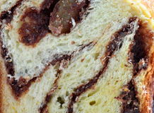 Close up do bolo de esponja Fotografia de Stock
