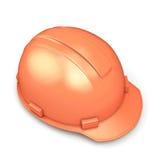 Close-up do capacete da construção Fotos de Stock