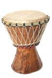 Close up do cilindro de bongos foto de stock
