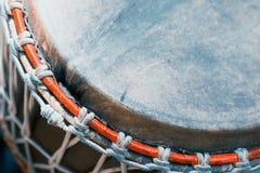 Close up do cilindro de bongos Imagem de Stock Royalty Free