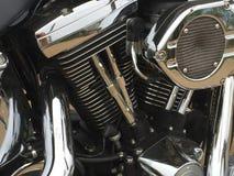 Close-up do cilindro do ciclo de motor imagem de stock royalty free