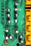 Close-up do circuito eletrônico Fotografia de Stock Royalty Free