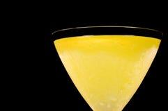 Close up do cocktail do lemoncello Fotos de Stock
