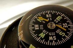 Close up do compasso fotografia de stock royalty free