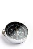 Close up do compasso magnético Fotos de Stock Royalty Free