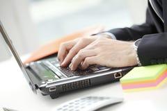 Close-up do conselheiro financeiro Imagem de Stock