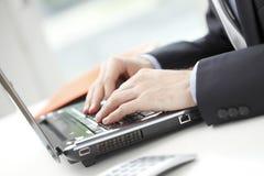 Close-up do conselheiro financeiro Fotografia de Stock Royalty Free