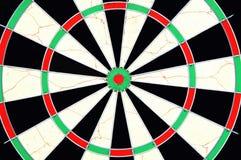 Close up do dartboard Foto de Stock Royalty Free