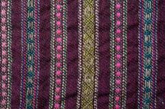 Close-up do de lã homespun Fotografia de Stock Royalty Free