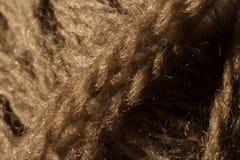 Close-up do emaranhado de lãs Imagens de Stock