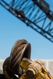 Close-up do equipamento de construção Fotografia de Stock Royalty Free