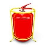 Close-up do extintor Imagens de Stock