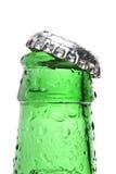 Close up do frasco isolado Fotografia de Stock Royalty Free