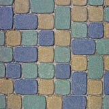 Close up do fundo da textura do Cobblestone Foto de Stock Royalty Free